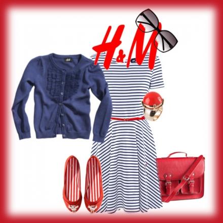 Les rayures de marin de H&M