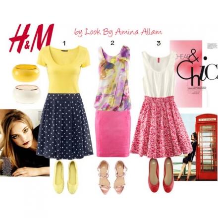 Trois tenues H&M