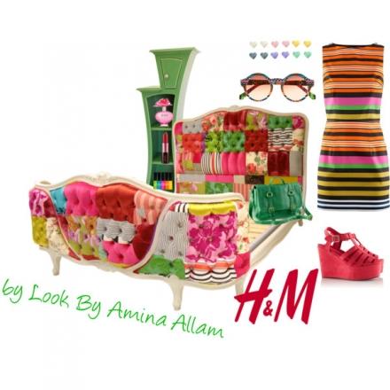 L'été en couleurs par H&M