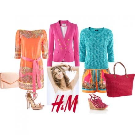 Deux façons de porter le blazer fushia H&M