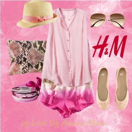 Toute rose en H&M