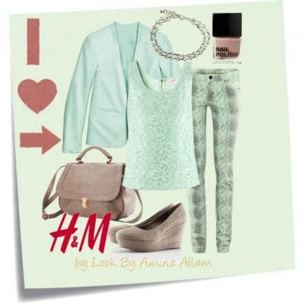 Le vert menthe par H&M