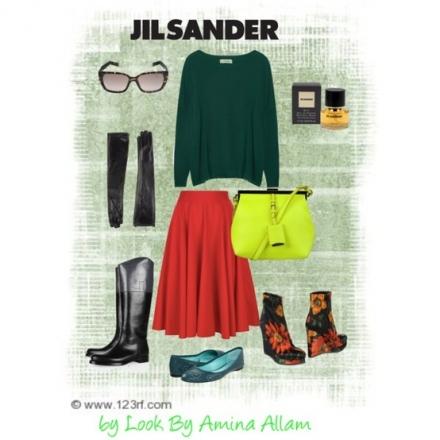 La mode signée Jil Sander
