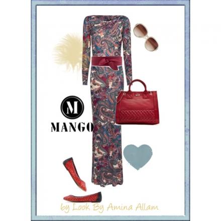 La robe longue by Mango