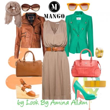 Une robe – 2 tenues, par Mango