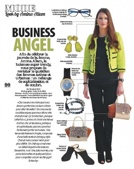 Le Dressing d'Amina dans Plurielle – Business Angel