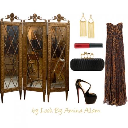 La robe d'Alexander McQueen