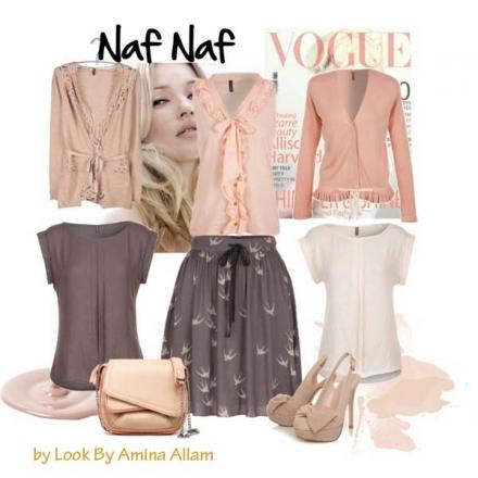 Je combine mon ensemble Naf Naf