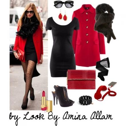 Le manteau rouge de H&M