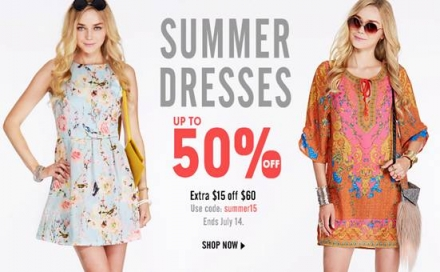 Romwe summer dress promotion