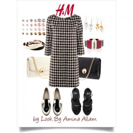 La robe pied de poule de H&M