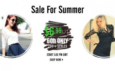 Romwe Sale For Summer