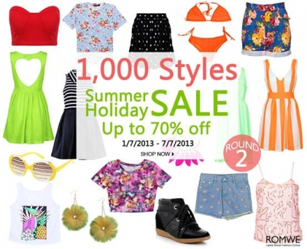 Romwe Summer Holiday Sale
