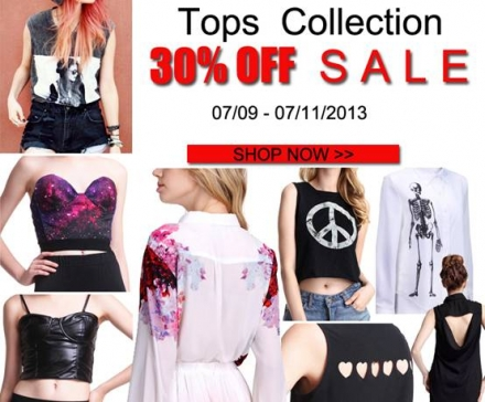 Romwe Tops Collection Sale