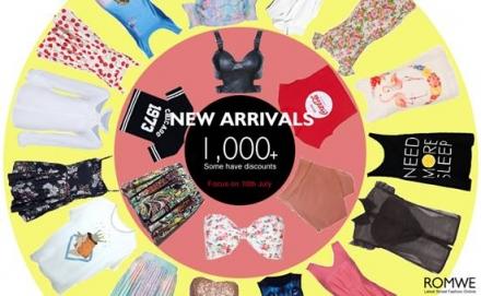 Romwe – New Arrivals