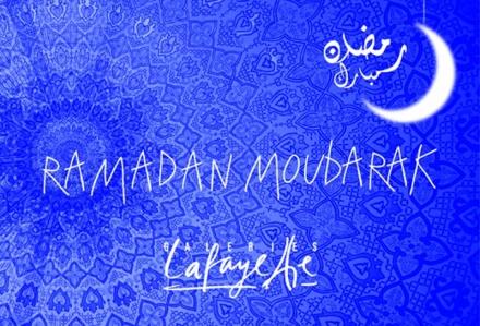 Le Ramadan aux Galeries Lafayette