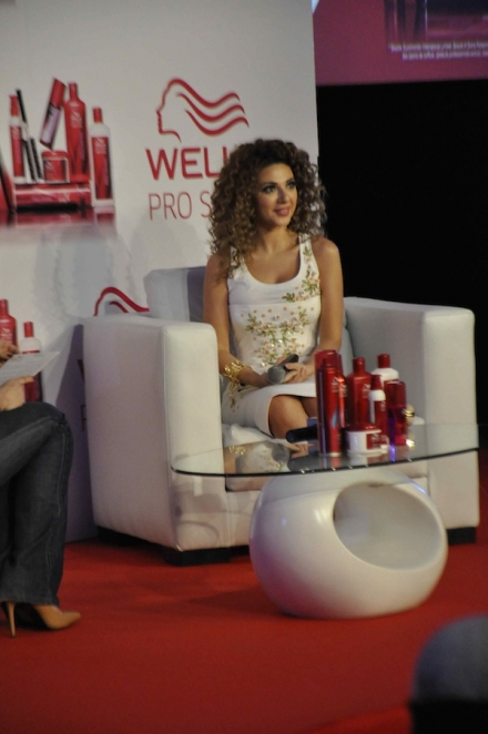 Wella Pro Series press conference