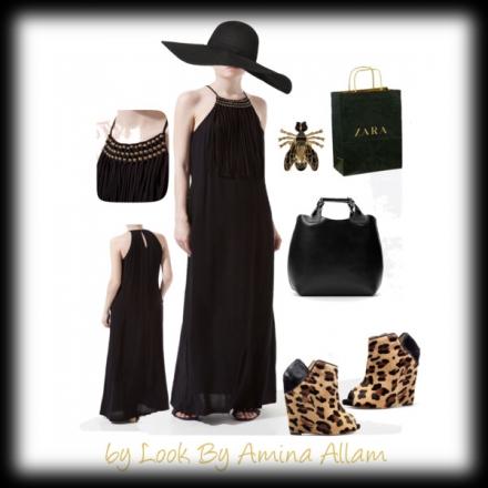 La robe longue de Zara