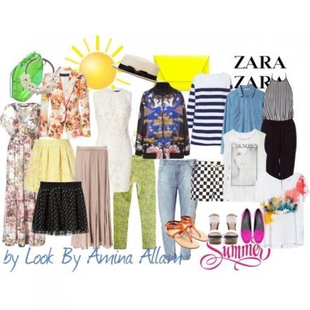 Quelques essentiels de Zara pour l'été 2013