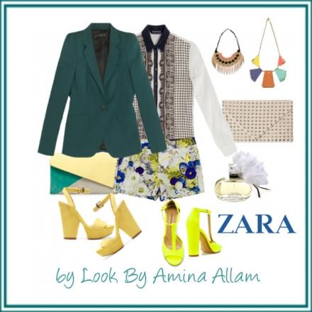 Des couleurs et des motifs de Zara