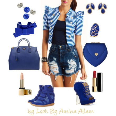 J'adore le bleu
