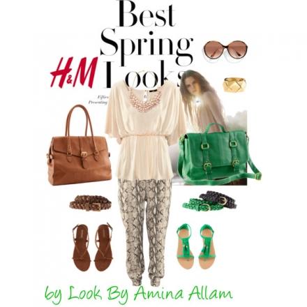 Comment porter le pantalon imprimé de H&M?