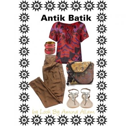 Antik Batik aux Galeries Lafayette