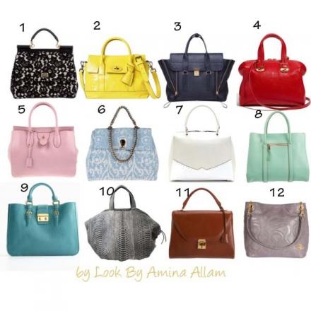 Une sélection de sacs