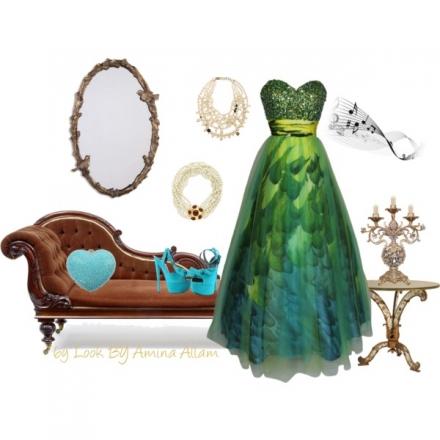 Une belle robe de bal