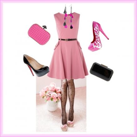 Style Barbie pour la femme glamour