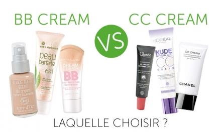 BB crème vs CC crème – le saviez-vous?