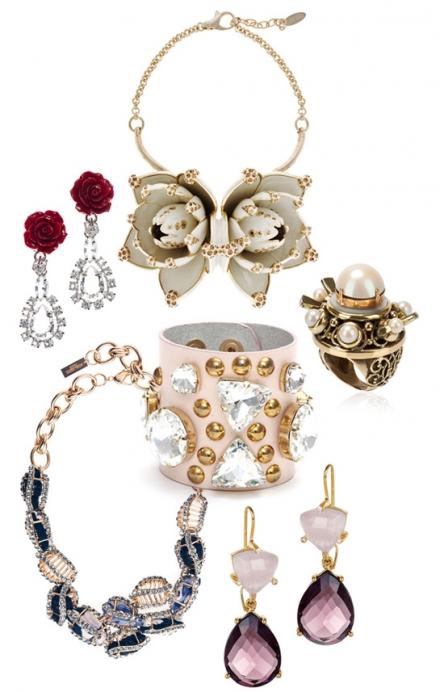 Les bijoux clinquants de Prada