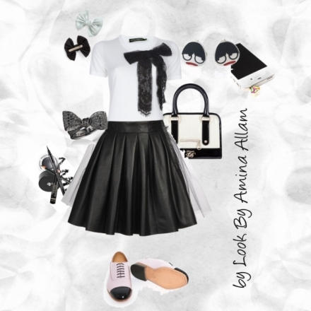 Tenue monochrome