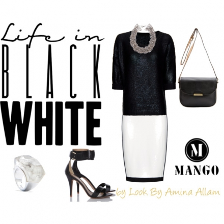 La vie en Black & White by Mango