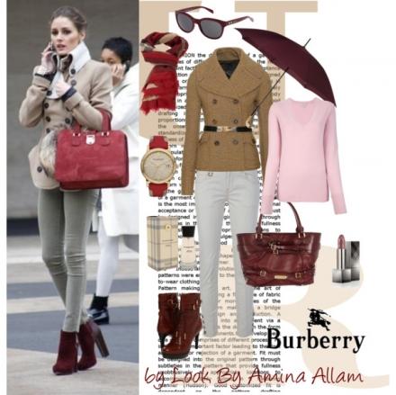 Burberry pour un look d'automne