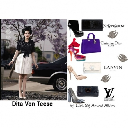 Les accessoires de Dita von Teese