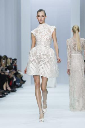 Défilé haute couture Elie Saab – printemps-été 2012