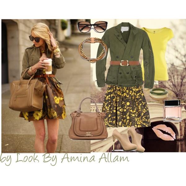 Look By Amina Allam Une Tenue Mi Saison