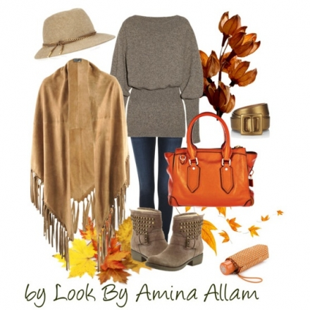 Les couleurs des feuilles d'automne…