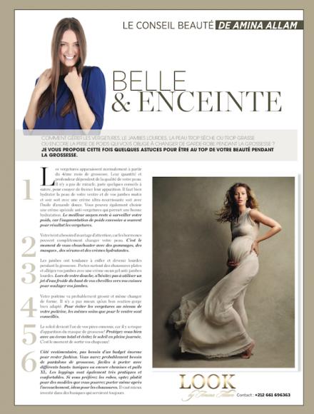 Belle & enceinte