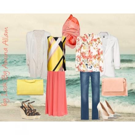 Deux tenues d'été