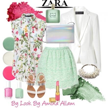 Flowers&pastels by Zara