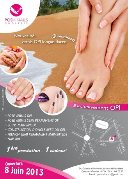 Posh Nails – la beauté de vos ongles