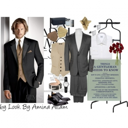 Le costume 3 pièces d'un gentleman