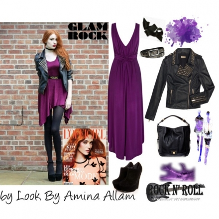 Le style glam'rock féminin à l'approche de l'automne