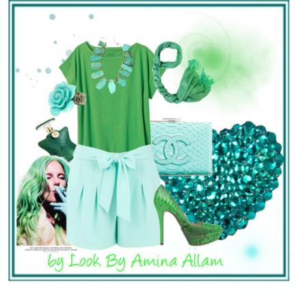 Tout en vert