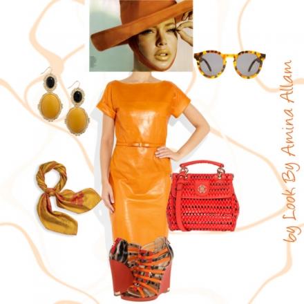 Le cuir orange de Gucci