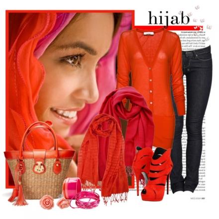 Des couleurs avec le hijab