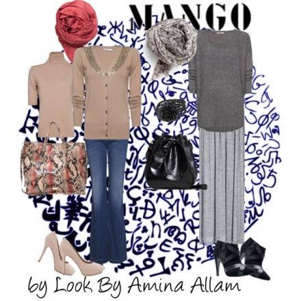 La femme voilée fashion