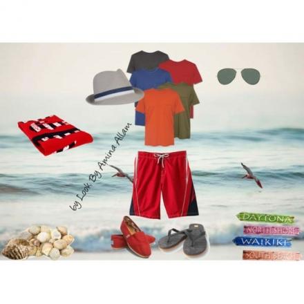 L'homme à la plage